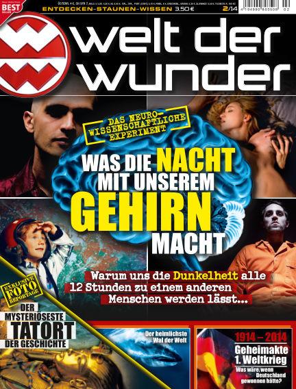 Welt der Wunder February 01, 2014 00:00