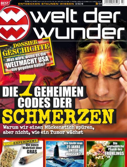 Welt der Wunder March 01, 2014 00:00
