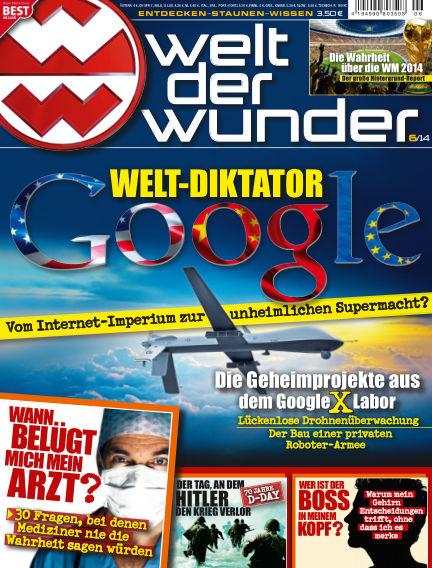 Welt der Wunder June 03, 2014 00:00