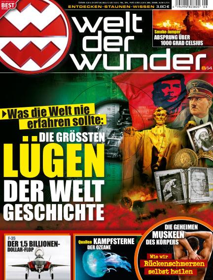 Welt der Wunder August 03, 2014 00:00