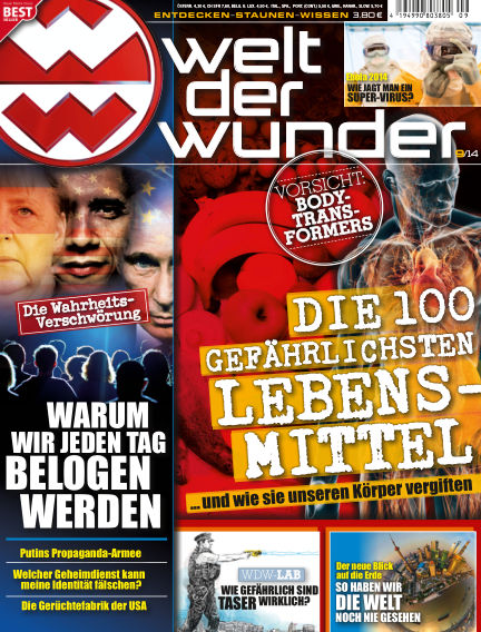 Welt der Wunder September 03, 2014 00:00