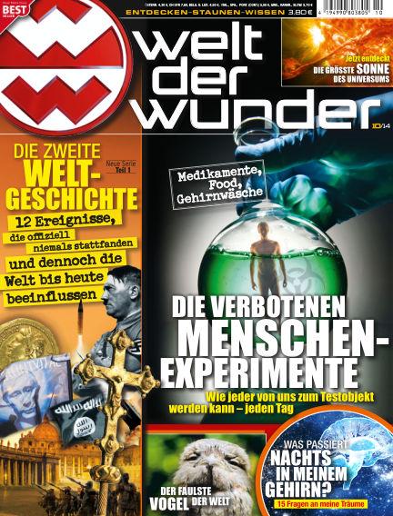 Welt der Wunder October 03, 2014 00:00
