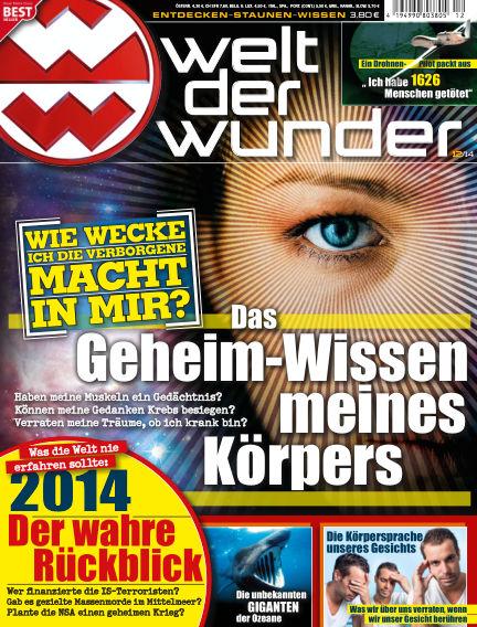 Welt der Wunder December 01, 2014 00:00