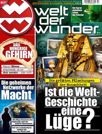 Welt der Wunder June 24, 2016 00:00