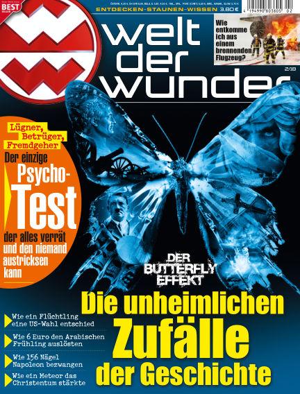 Welt der Wunder January 26, 2018 00:00