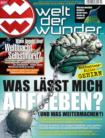 Welt der Wunder February 23, 2018 00:00