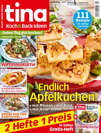 Tina Koch & Backideen August 03, 2016 00:00