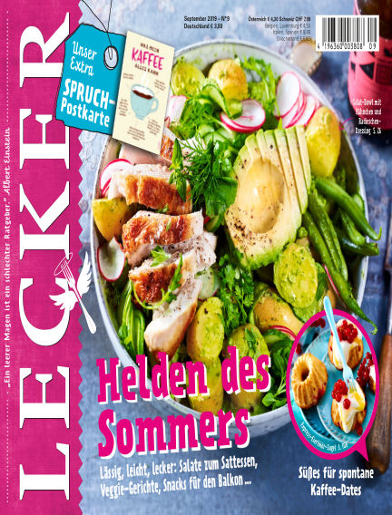 Lecker July 30, 2019 00:00