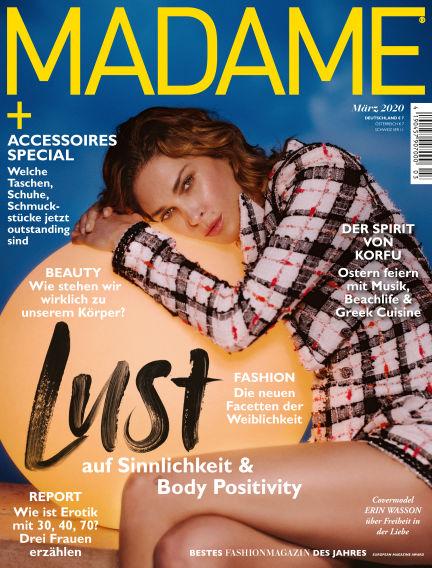 Madame February 05, 2020 00:00