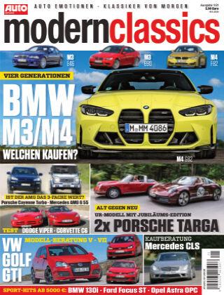 Auto Zeitung Modern Classics NR.01 2021
