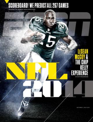 ESPN Magazine September 1, 2014
