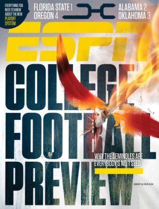 ESPN Magazine August 18, 2014