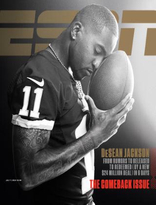 ESPN Magazine July 7, 2014