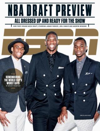 ESPN Magazine June 23, 2014