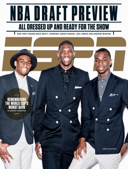 ESPN Magazine June 12, 2014 00:00