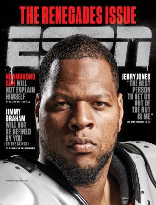ESPN Magazine September 15, 2014