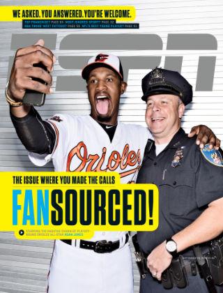 ESPN Magazine September 29, 2014