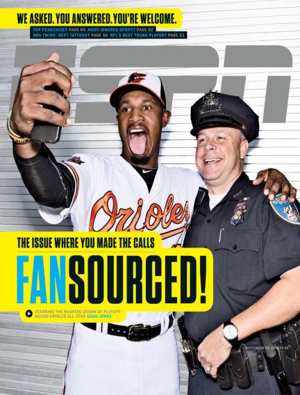 ESPN Magazine September 18, 2014 00:00