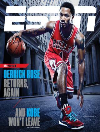 ESPN Magazine October 27, 2014