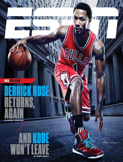 ESPN Magazine October 16, 2014 00:00