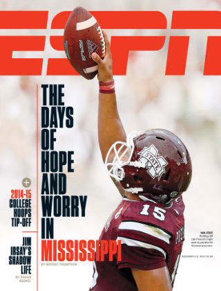 ESPN Magazine November 10, 2014