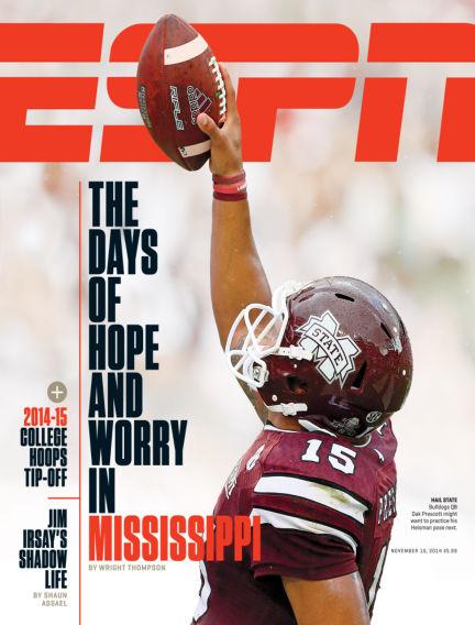 ESPN Magazine October 30, 2014 00:00