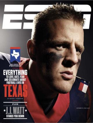 ESPN Magazine November 24, 2014