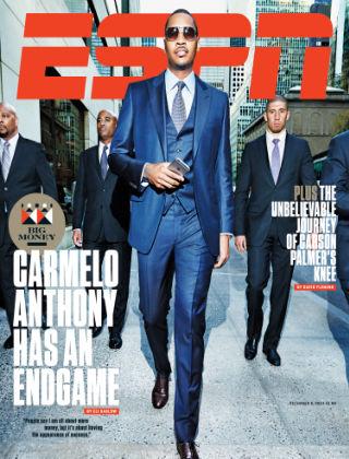 ESPN Magazine December 8, 2014