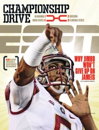 ESPN Magazine January 5, 2015