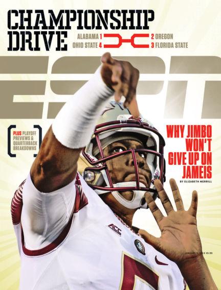 ESPN Magazine December 25, 2014 00:00