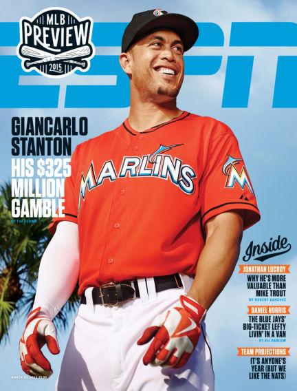 ESPN Magazine March 14, 2015 00:00