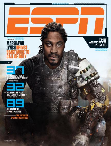 ESPN Magazine June 11, 2015 00:00