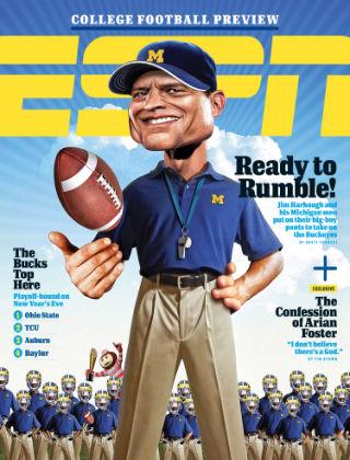 ESPN Magazine August 17, 2015