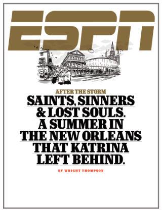 ESPN Magazine September 14, 2015