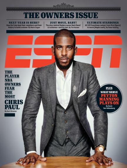 ESPN Magazine October 01, 2015 00:00