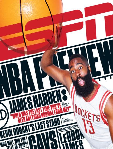 ESPN Magazine October 15, 2015 00:00