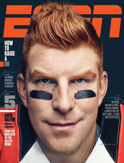 ESPN Magazine November 12, 2015 00:00