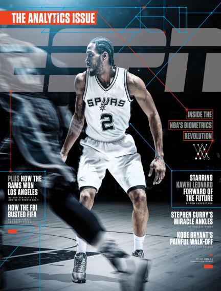 ESPN Magazine February 18, 2016 00:00