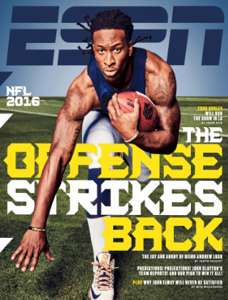 ESPN Magazine Sep 19 2016