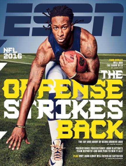 ESPN Magazine September 08, 2016 00:00