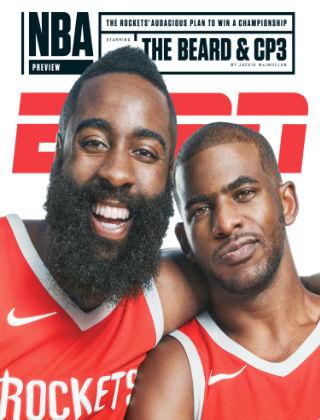 ESPN Magazine Oct 30 2017