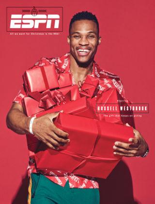 ESPN Magazine Dec 25 2017