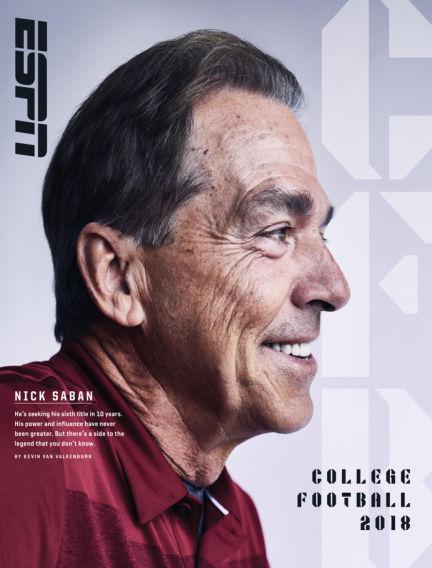 ESPN Magazine August 09, 2018 00:00