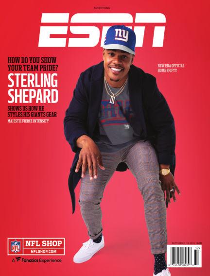 ESPN Magazine August 30, 2018 00:00