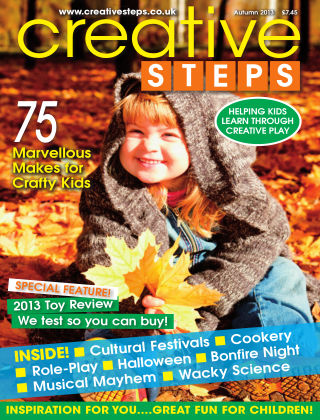 Creative Steps Autumn 2013