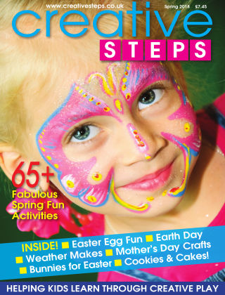 Creative Steps Spring 2018 Issue 57