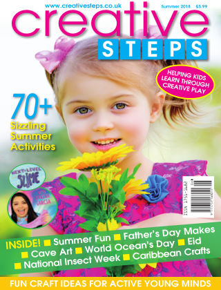 Creative Steps Summer 2018 Issue 58
