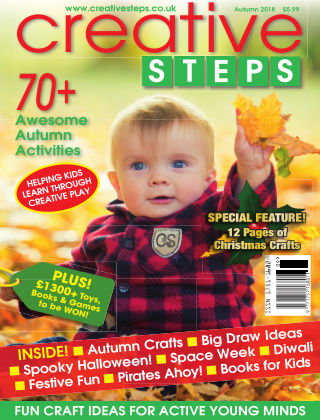 Creative Steps Autumn 2018 Issue 59