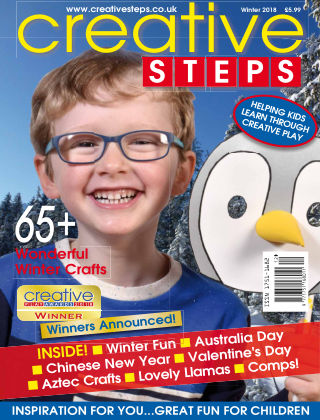Creative Steps Winter 2018 Issue 60