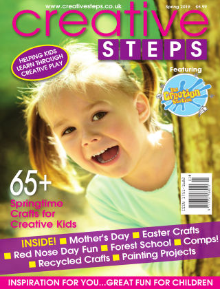 Creative Steps Spring 2019 Issue 61
